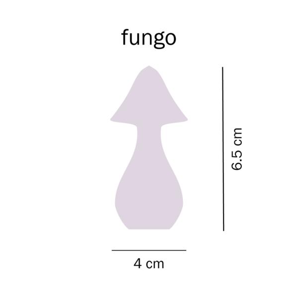 dimensioni trottola Fungo del Tarlo