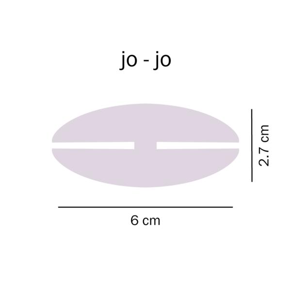 dimensioni Jo-Jo del Tarlo