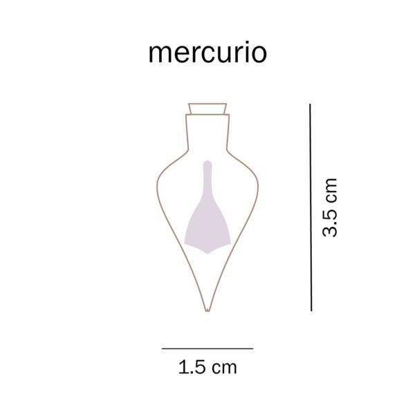 dimensioni trottola mercurio del Talo