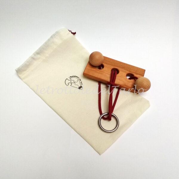 rompicapo ariete con sacchetto