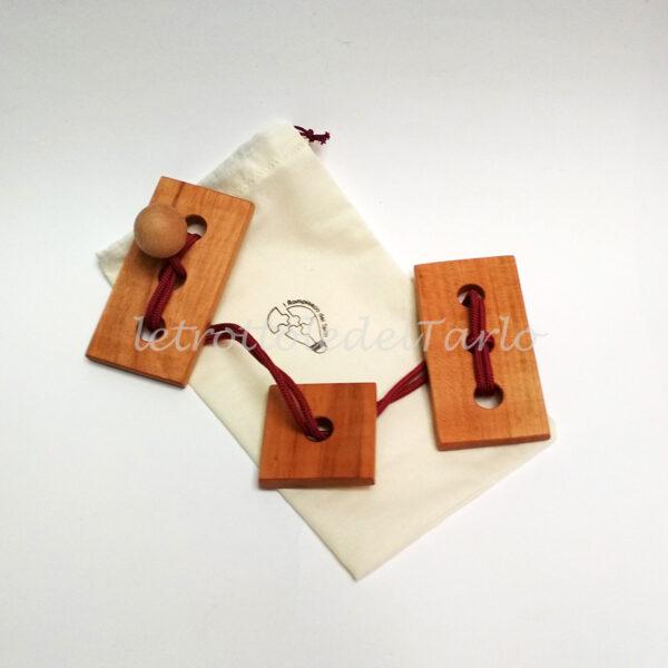 rompicapo dragone con sacchetto