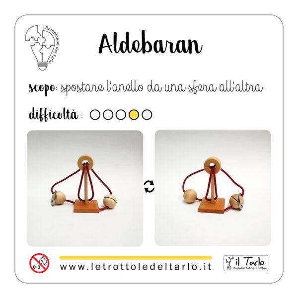 rompicapo aldebaran istruzioni confezione