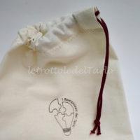 sacchetto cotone realizzato a mano