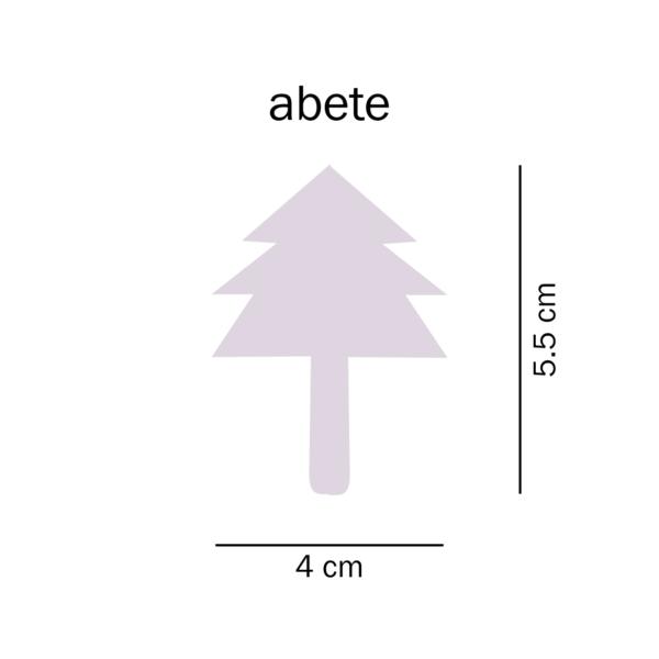 dimensioni trottola Abete del Tarlo